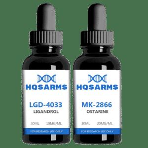 SARMS lean stack LGD-4033 MK-2866