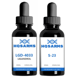 Buy LGD4033 S23 SARMs stack for strength